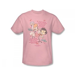 I Love Lucy - Rumba Dance Adult T-Shirt In Pink