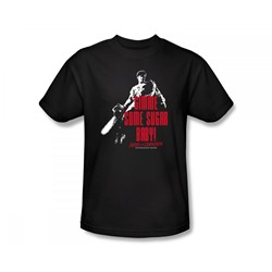 Army Of Darkness - Sugar Adult T-Shirt In Black