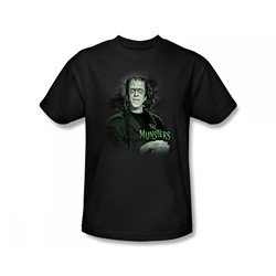 The Munsters - Man Of The House Slim Fit Adult T-Shirt In Black