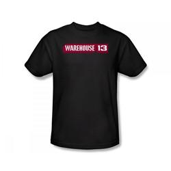 Warehouse 13 - Warehouse 13 Logo Slim Fit Adult T-Shirt In Black