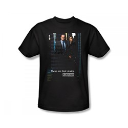 Law & Order: Special Victim's Unit - Special Victims Unit Slim Fit Adult T-Shirt In Black