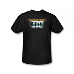 Friday Night Lights - Game Time Slim Fit Adult T-Shirt In Black