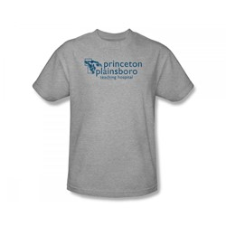 House - Princeton Plainsboro Slim Fit Adult T-Shirt In Heather