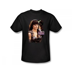 Xena: Warrior Princess - Warrior Princess Slim Fit Adult T-Shirt In Black