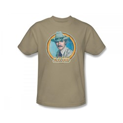 Mccloud - Mccloud Distressed Slim Fit Adult T-Shirt In Sand