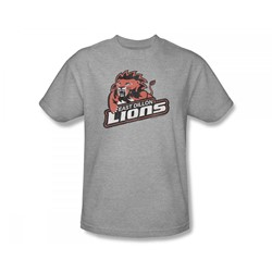 Friday Night Lights - East Dillon Lions Slim Fit Adult T-Shirt In Heather