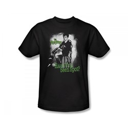 The Munsters - Have You Seen Spot Slim Fit Adult T-Shirt In Black