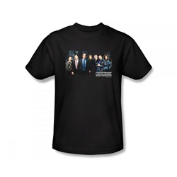 Law & Order: Special Victim's Unit - Svu Cast Slim Fit Adult T-Shirt In Black