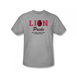 Friday Night Lights - Lions Pride Slim Fit Adult T-Shirt In Heather