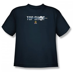 Top Shot - Top Shot Poster Big Boys T-Shirt In Navy