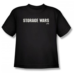 Storage Wars - Tough Logo Big Boys T-Shirt In Black