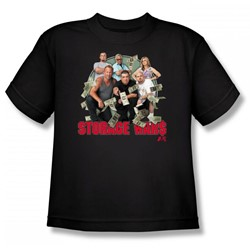 Storage Wars - Money Reign Big Boys T-Shirt In Black