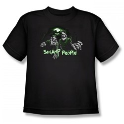 Swamp People - Bayou Brothers Big Boys T-Shirt In Black