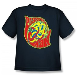 Plastic Man How I Roll Big Boys S/S T-shirt in Navy by DC Comics