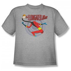 Elongated Man Big Boys S/S T-shirt in Athletic Heather by DC Comics