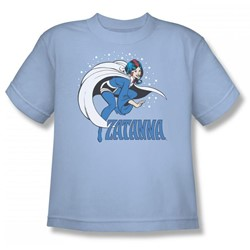 Zatanna Big Boys S/S T-shirt in Light Blue by DC Comics