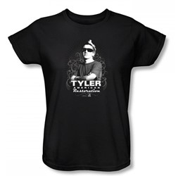 American Restoration - Tyler Womens T-Shirt In Black