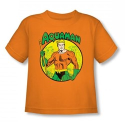 Aquaman - Aquaman Toddler T-Shirt In Orange