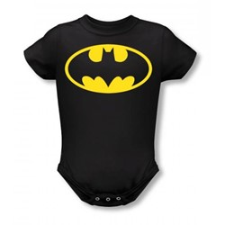 Batman - Classic Logo Infant T-Shirt In Black