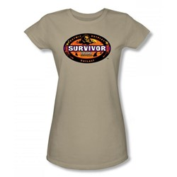Cbs - Panama Juniors T-Shirt In Sand