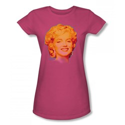 Marilyn Monroe - Funky M Juniors T-Shirt In Hot Pink