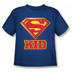 Superman - Super Kid Juvy T-Shirt In Royal Blue