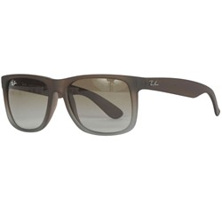 Ray-Ban - RB4165 671 Sunglasses In Rubber Brown On Grey