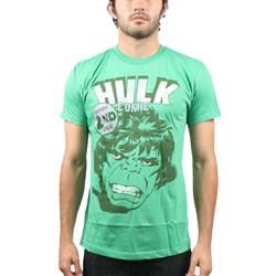 Hulk - Mens Smash 2nd Issue T-Shirt in Green