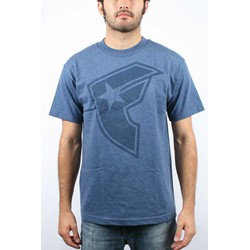 Famous Stars and Straps - Mens OG BOH T-Shirt In Denim Heather/Navy