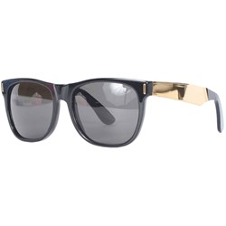 Super Sunglasses - Basic Wayfarer - Francis Black/Gold