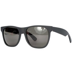 Super Sunglasses - Basic Wayfarer In Black Matte