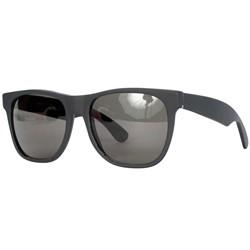 Super Sunglasses - Basic Wayfarer In Black Matte