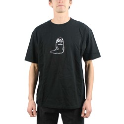Rusty Mens T-shirt in Black