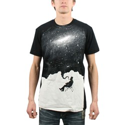 Imaginary Foundation - Mens Nostalgic Mood T-Shirt In Black