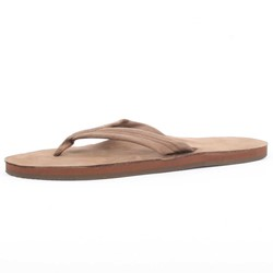 Rainbow - Mens Premier Leather Single Layer  Sandals