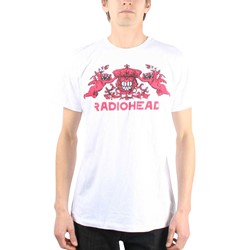 Radiohead - Mens Bear Crest T-Shirt in White