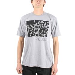 Radiohead - Mens Street Map T-Shirt in Grey
