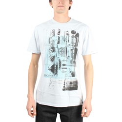 Jedidiah - Mens Drafter T-shirt in Ice Blue