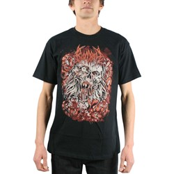 Bloodbath - Mens Wretched Human T-shirt in Black