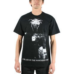 Dark Throne - Mens A Blaze in the Northern Sky T-shirt in Black