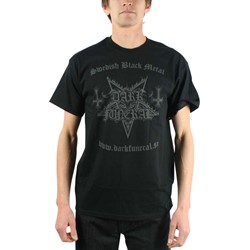 Dark Funeral - Mens Swedish Black Metal T-shirt in Black
