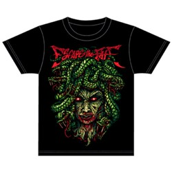 Escape The Fate - Mens Medusa T-Shirt In Black