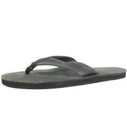 Rainbow - Mens Premier Leather Single Layer  Sandals