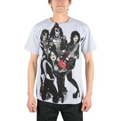 Kiss - Rocket Ride Mens T-Shirt In Heather Grey