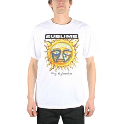 Sublime - 40Oz To Freedom Adult T-Shirt in White