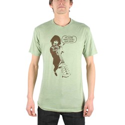 Frank Zappa - Kill Your Mama Mens T-Shirt In Heather Green