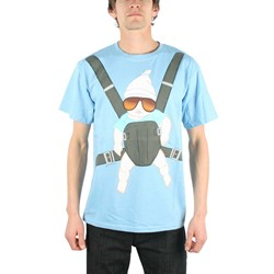 The Hangover - Baby Bjorn Adult T-shirt in Light Blue