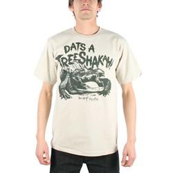Swamp People - Mens Dats A Treeshakah T-Shirt In Cobblestone