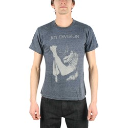 Joy Division - Ian Curtis Mens T-Shirt In Heather Navy