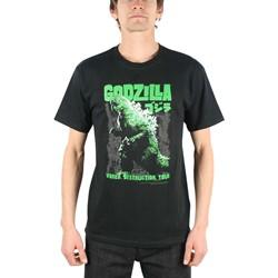 Godzilla World Destruction Tour Adult T-Shirt In Black